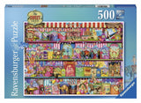 500pc Jigsaw Puzzle Ravensburger The Sweet Shop