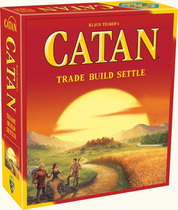 Catan Trade Build Settle Strategy Board Game