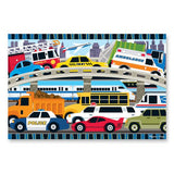 24pc Jigsaw Puzzle Melissa and Doug Floor Puzzle Traffic Jam