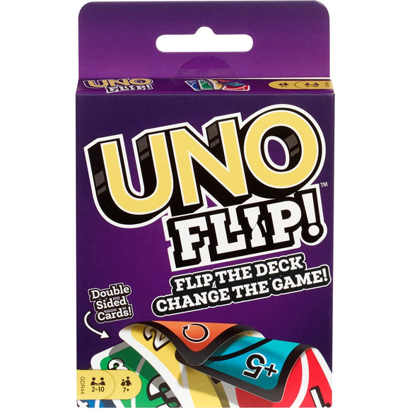 Uno Flip Double Sided Cards Card Game