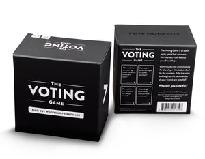 The Voting Game Card Game