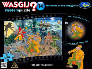 1000pc Jigsaw Puzzle Holdson Wasgij Mystery 14 The Hound of Wasgijville
