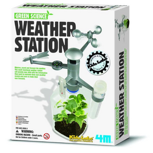 Green Science Weather Station Mini Observatory STEAM by 4M Science Kit