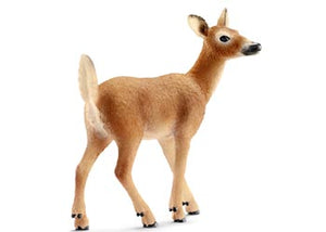 Deer White Tailed Doe Schleich Figurine