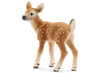 Deer White Tailed Fawn Schleich Figurine