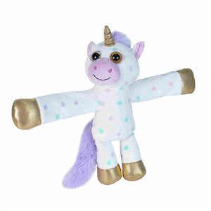 Slap Snap Band Plush Huggers Unicorn