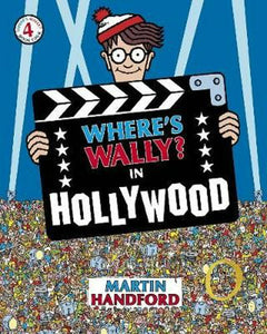 Where's Wally? Book 4 In Hollywood by Martin Handford Softcover Book