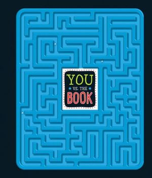 You V's The Book Puzzle Activity Hardcover Book