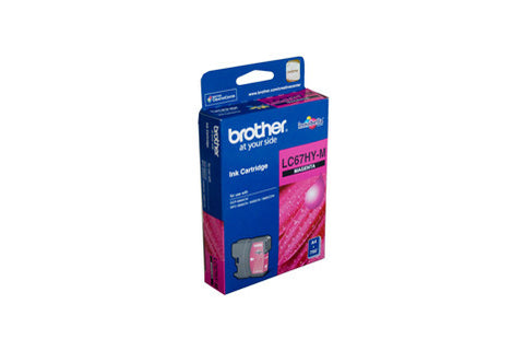 Brother LC67 Magenta HY Ink Cartridge