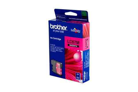 Brother LC67 Magenta Ink Cartridge