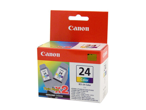 Canon BCI24 Colour Twin Pack