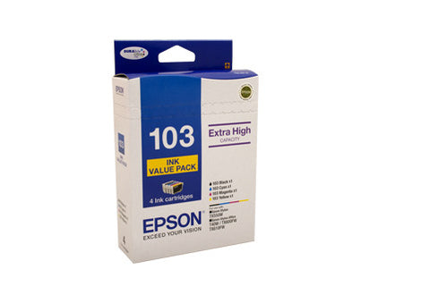 Epson 103 H/Y Ink Value Pack