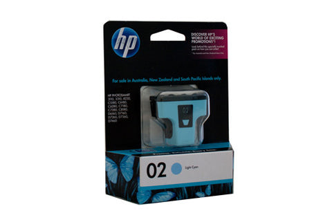 HP #02 Light Cyan Ink C8774WA