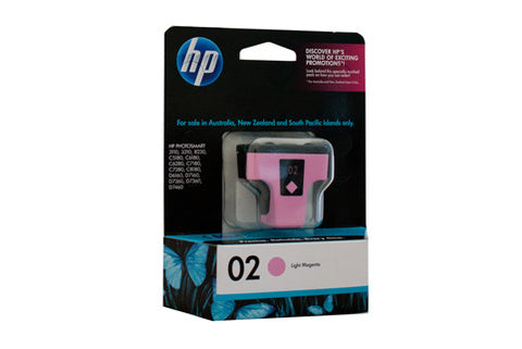 HP #02 Light Magenta Ink C8775WA