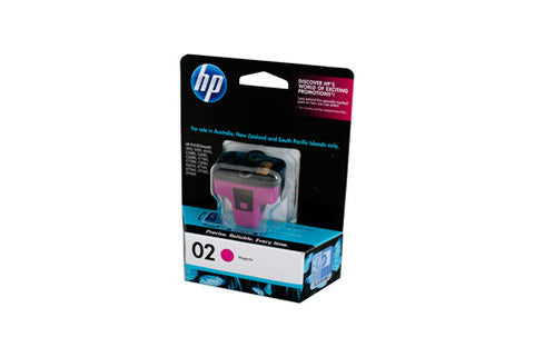 HP #02 Magenta Ink Cartridge C8772WA