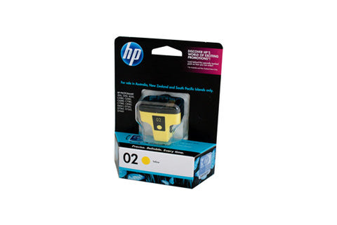 HP #02 Yellow Ink Cartridge C8773WA