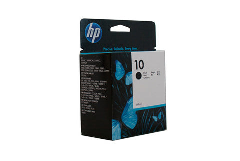 HP #10 Black Ink Cartridge C4844A