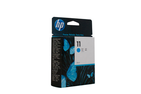 HP #11 Cyan Ink Cartridge C4836A