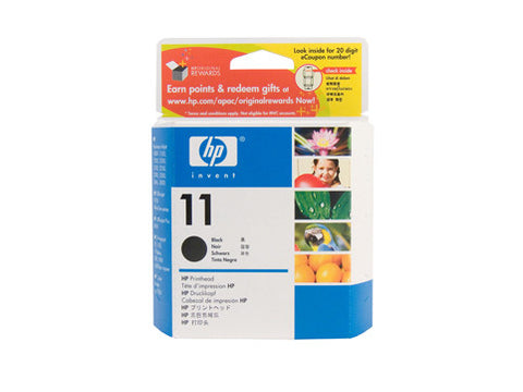 HP #11 Black P/head C4810A