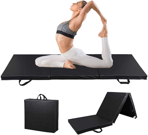 Thick Exercise Gymnastic Mat Tri-Fold