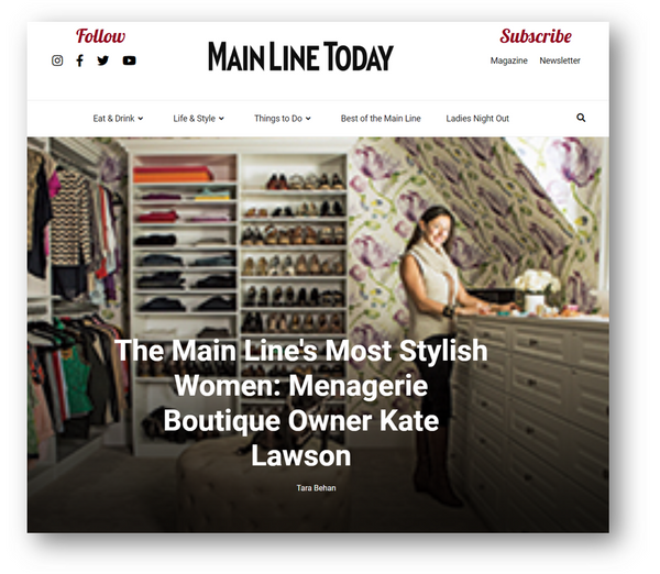 Mainline Today - The MOST Stylish Women
