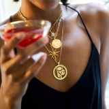 LOVE Cut Out Pendant by Jane Winchester