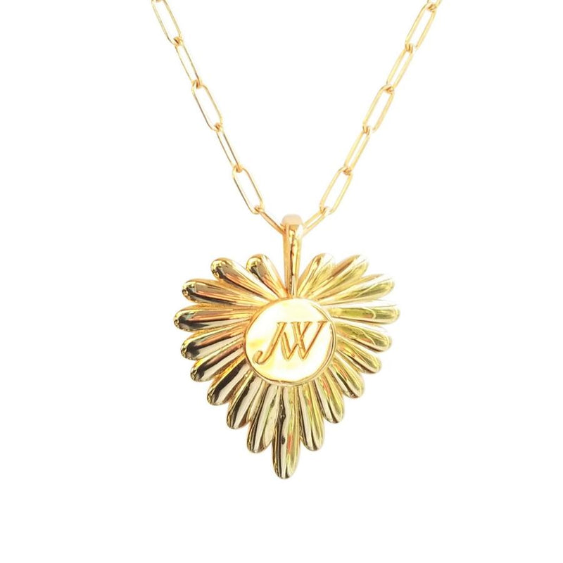 Love Full Heart Pendant by Jane Win