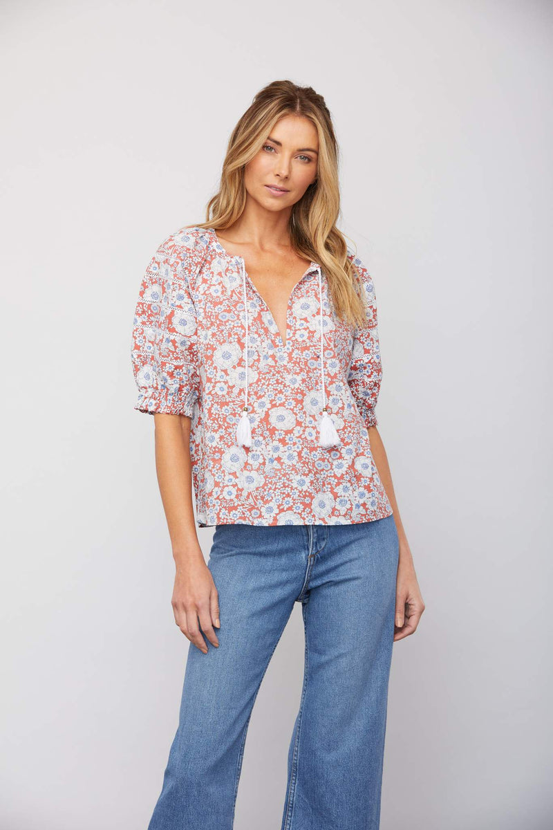 Jackson Floral Patterned Blouse