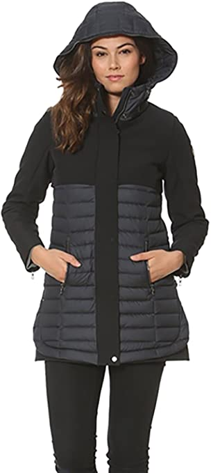 Waterproof Down Quilted Puffer Jacket