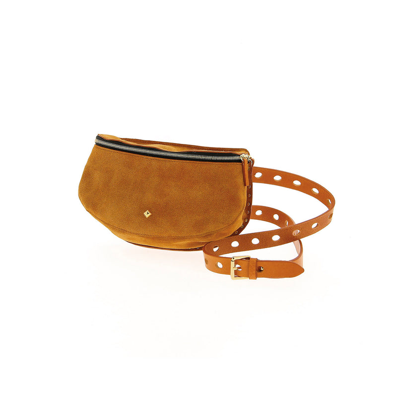 The Lili Suede Fanny Pack