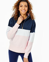 Filbert Quater Zip Sweatshirt by Addison Bay