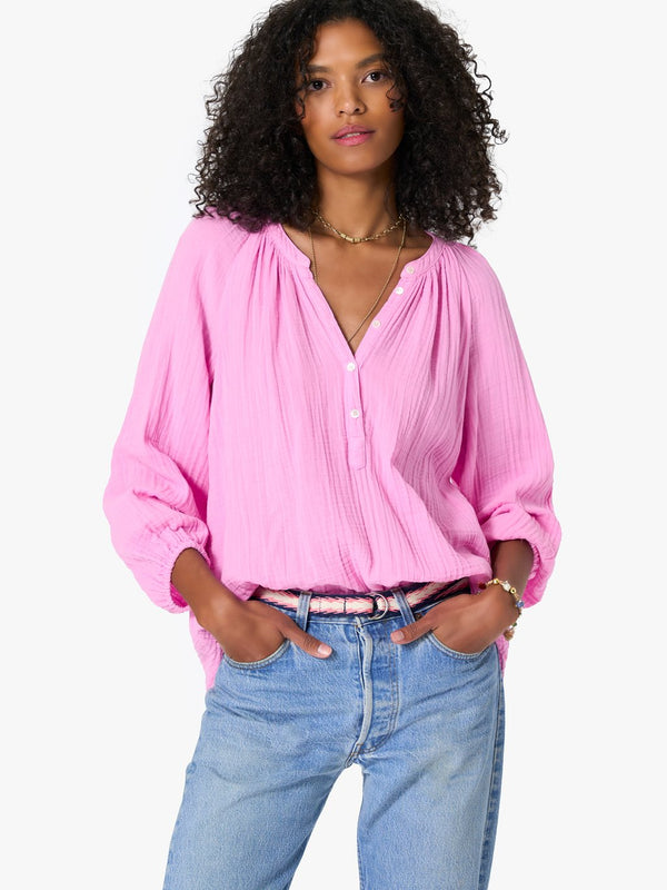 Aerin Pretty Pink Gauze Top by Xirena