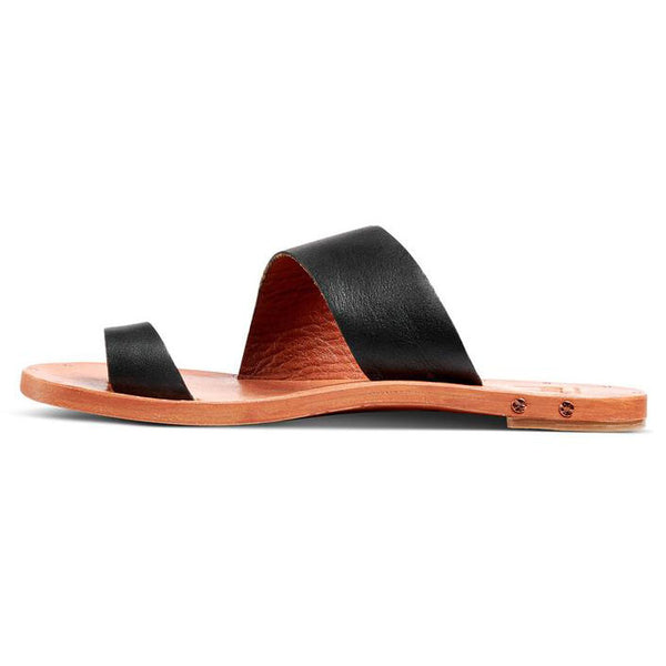 Finch Leather To Ring Sandle by Beek