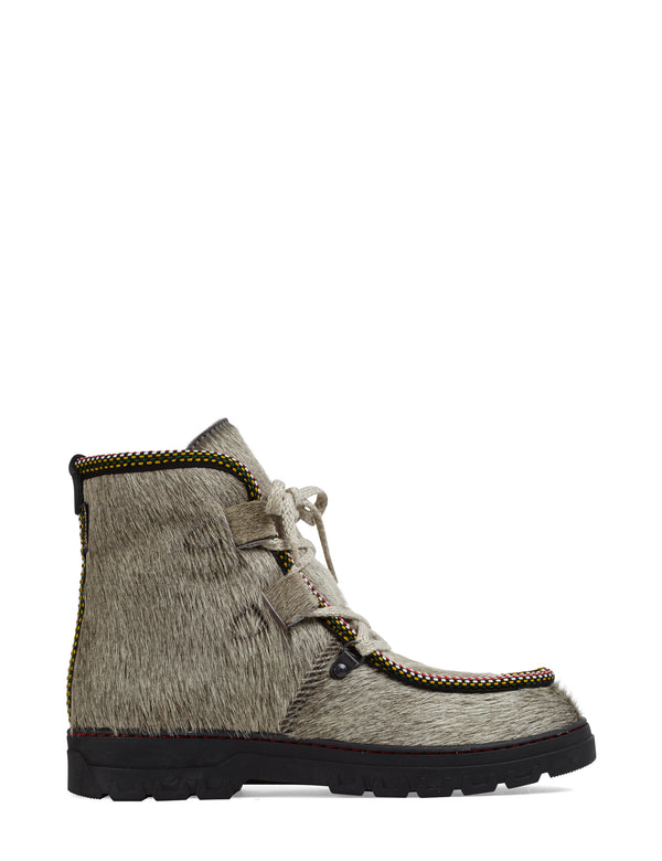 Incredible Sheepskin and Sherling Lined Après Ski Boot by Penelope Chilvers SALE