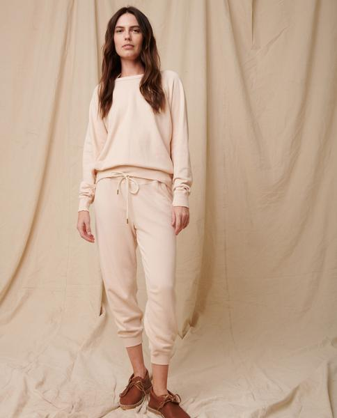 The Cropped Sweatpant by The Great