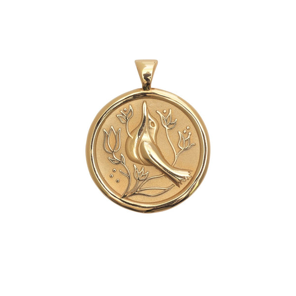 Jane Winchester Original Coin Pendant Peace