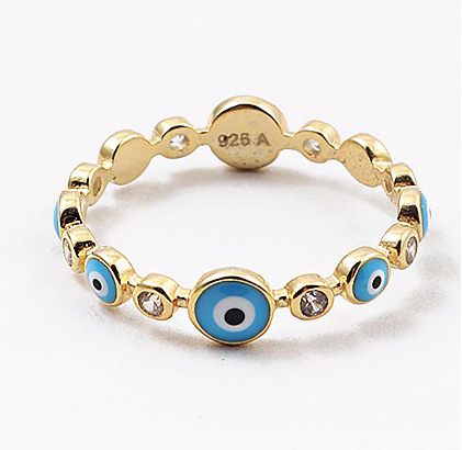 Stackable Evil Eye Ring