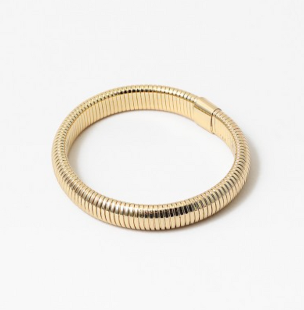 Single Flex Gold Bracelet