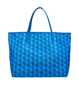 Saint Barth Blue Monogram Bag