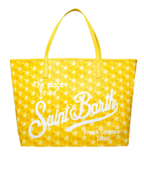 Saint Barth Yellow Monogram Bag