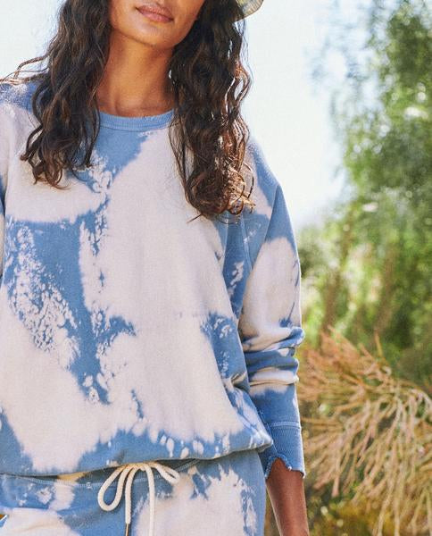 The Cloud Wash College Sweatshirt by The Great