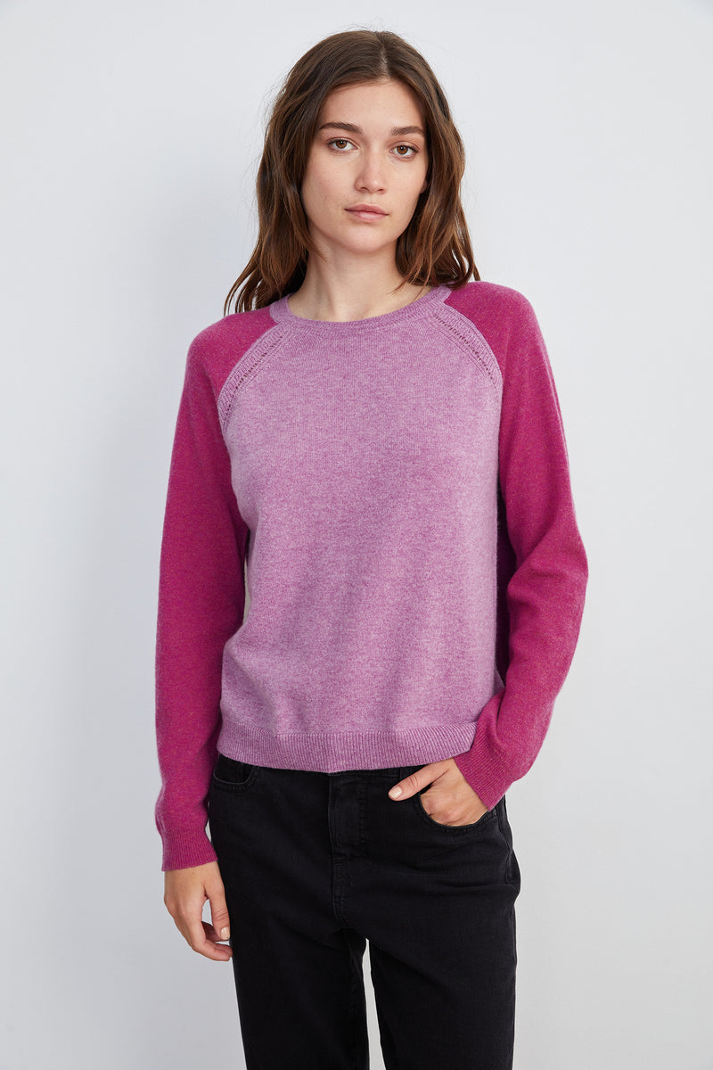 Cashmere Crewneck Sweater by Velvet