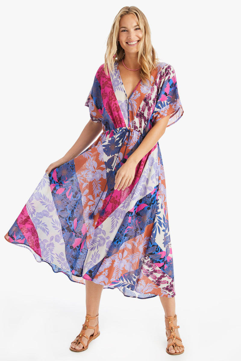 Pinks Grayson Flowy Drawstring Dress