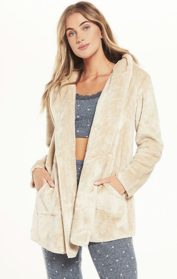 Cozy Feel Plush Cardigan with Pockets by Z Supply SALE