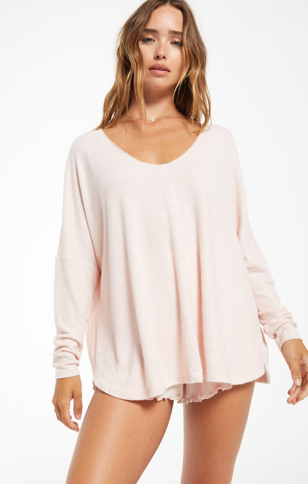 Hang Out Long Sleeve Top by Z Supply Sale