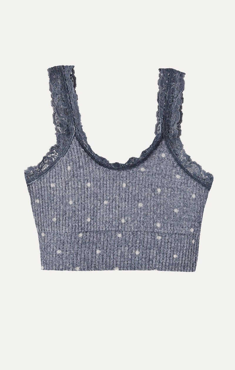 Lacie Dot Knit Bralette by Z Supply