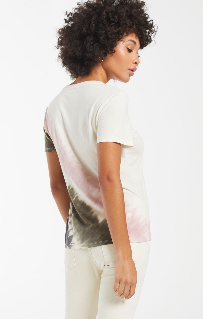 Z Supply Easy Stripe Tie Dye Tee Sale