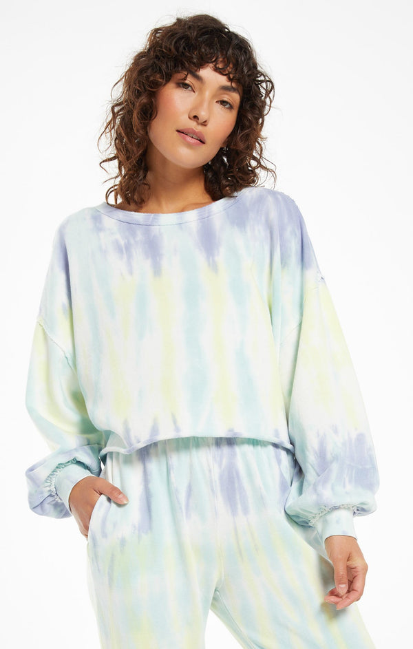 The Tempest Tie-Dye Pullover by Z Supply