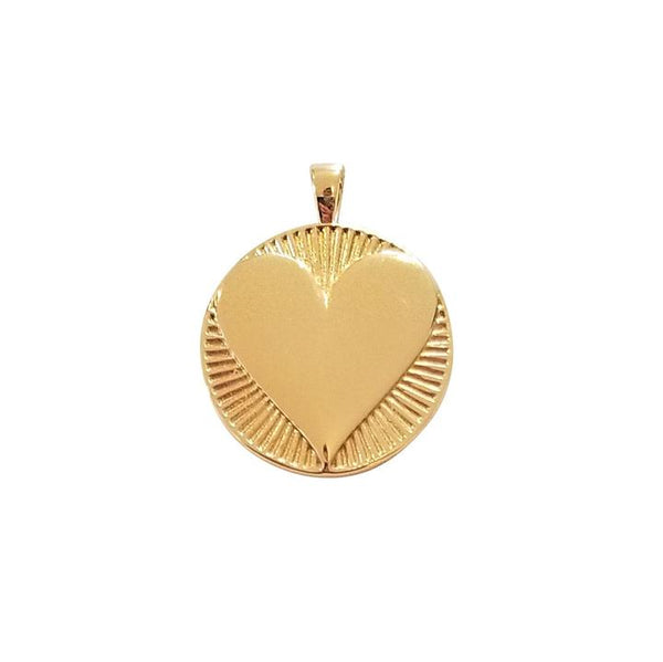 Hearts Find Me Love Pendant by Jane Winchester