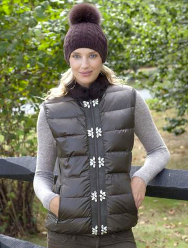 The Glam Puffer Vest
